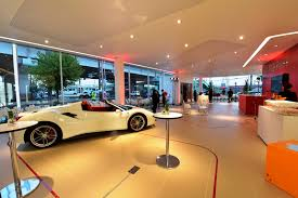 ferrari dealership showroom ferrari doubles down on japanese market with two new dealerships
