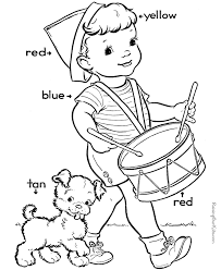 numbers interest educational coloring pages for preschoolers at