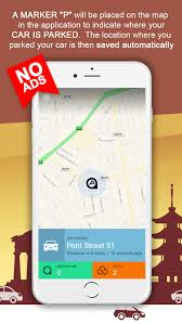 free finder app autobcon find where is parked my car parking spot finder and