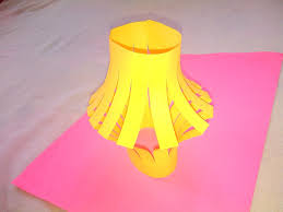 lamp shade origami paper crafts for kids youtube
