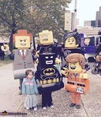 Lego Halloween Costumes Amazing Family Themed Lego Movie Costumes Lego Movie Costume