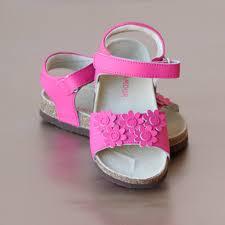 l u0027amour girls floral cork footbed sandal u2013 petit foot
