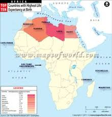 africa map 54 countries second largest continent area of 11 668 599 sq second