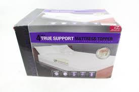 dream serenity 4 inch true support mattress topper property room