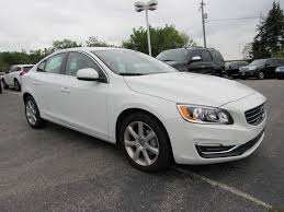 used 2016 volvo s60 sedan ice white for sale in waukesha wi