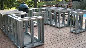 how to build a outdoor kitchen island build outdoor kitchen frame kitchens build outdoor