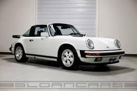 porsche 911 targa white 1989 porsche 911 targa grand prix white 18 429 sloan cars