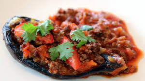stuffed eggplant karniyarik turkish recipe cookingwithalia