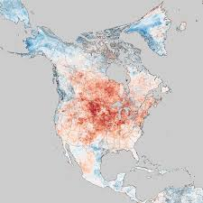 Map Of North Eastern United States by Historic Heat In North America Turns Winter To Summer Image Of
