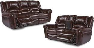 Sofa Loveseat Recliner by Flexsteel Living Room Bricktown Reclining Sofa And Loveseat