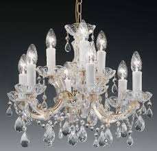 Decorating With Chandeliers Decorating Ideas Cool Picture Of Luxury Round White Crystal Glass