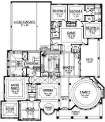 House Plans With Elevations And Floor Plans Country Style House Plans 7028 Square Foot Home 1 Story 7