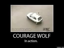 Meme Courage Wolf - sir courage wolf meme