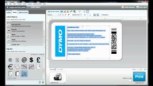 free sticker label templates how to build your own label template in dymo label software youtube