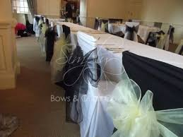 Black And White Chair Covers Wedding Chair Covers And Wedding Planning Lancashire Gallery