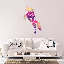 unicorn vinyl sticker geometric animal print wall vinyl print unicorn vinyl sticker geometric animal print wall vinyl print decal art design