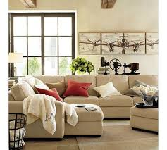 Sectional Pottery Barn 9 Best Sofas For The Cabin Images On Pinterest Living Room Ideas