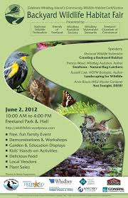whidbey wildlife habitat fair just another wordpress com site