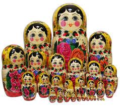 semyonovskaya 30 piece matryoshka russian legacy