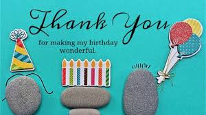 thank you messages for birthday wishes to friends appreciation