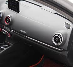 Audi S3 Interior For Sale Set Of 7 Real Black Carbon Fiber Interior Trim Complete Set For