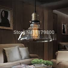 Vintage Bedroom Lighting Free Shipping Vintage Industrial Style Edison Glass Light L For