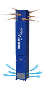 welding ventilation system robovent spire360 series weld cell filtration