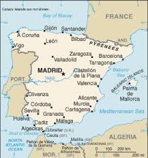 maps of spain spain map driving directions and maps