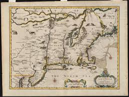 Map Of New England States by An Accurate Map Of The Four New England States Digital Commonwealth