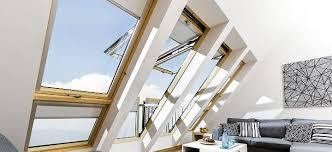 roof windows loft ladders skylights in ireland by fakro