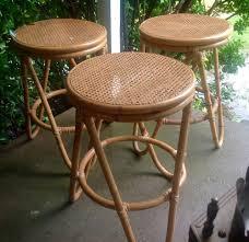 Thonet Vintage Chairs 3 Vintage Thonet Rattan Bentwood Bar Counter Cane Seat Bent Wood