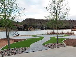 Patio Artificial Grass Fake Grass Carpet Midland Texas Paver Patio