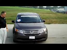 used car honda odyssey certified used 2011 honda odyssey ex l for sale at honda cars of