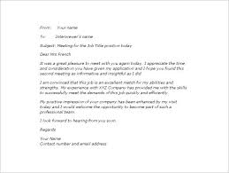 thank you email after second interview u2013 5 free sample example