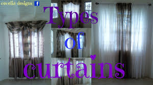 types of curtains types of curtains curtain designs for your homes interiors youtube