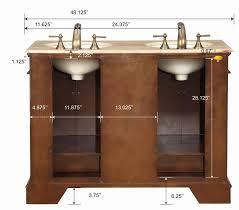 trendy double satin nickel faucet for 60 inch double sink vanity