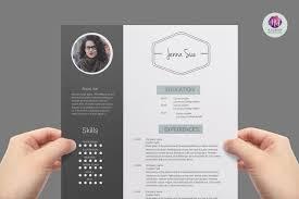 Modern Creative Resume Templates Modern Resume Template Resume Templates On Creative Market