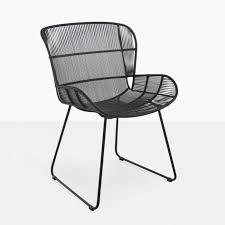 Woven Dining Chair Nairobi Woven Dining Arm Chair Black Teak Warehouse