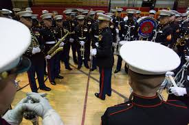 thanksgiving musical marine corps band preps for thanksgiving day performance
