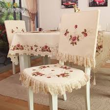 Fabric To Cover Dining Room Chairs Ty218 Fashion Embroidered Rustic Dining Table Fabric Chair Cover