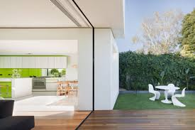 Small Minimalist House House Extension Links Minimalist White Cubes With Victorian Façade