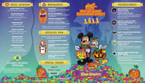 photos guide map for the 2017 mickey u0027s not so scary halloween party