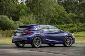 nissan leaf xe qc 2017 infiniti qx30 reviews and rating motor trend