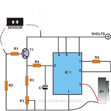 build these simple alarm circuits using ic 555 rain sensor and