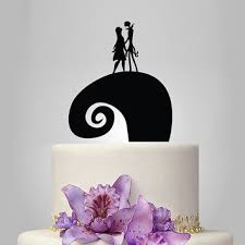 nightmare before christmas cake toppers shop nightmare before christmas weddings on wanelo