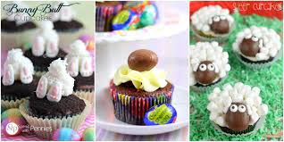 Cake Decorations For Easter Cakes by 12 Cute Easter Cupcakes Simply Southern Baking