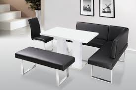 small white gloss kitchen table and chairs modern white gloss
