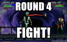 round 4 fight mortal kombat meme generator