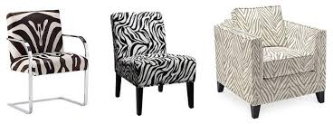 Zebra Accent Chair Dg Style Reader Question Zebra Chairs In The Living Room