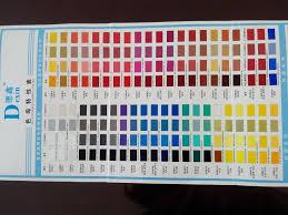 dexin car paint color chart view car paint color chart dexin